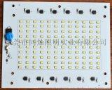 免驱动IC高压线性恒流LED高压灯板100W D162*130mm美国能源之星2835LED模组灯板