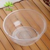 一次性碗帶蓋一次性飯盒 360ml透明外賣打包碗綠保康專業定制飯碗