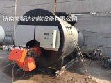 出售2011年杭州特富燃气蒸汽锅炉 4吨辅机资料齐全