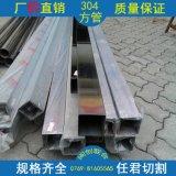 广东现货出售 304不锈钢管 壁薄拉丝光亮装饰用304方管 质优价廉