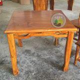 新款明式八仙桌,餐厅碳化木餐桌,酒店木桌椅,品艺家具厂