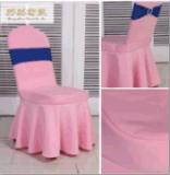 厂家直销 婚庆酒店宴会素色椅套 弹力椅套太阳裙摆太阳花椅套