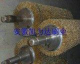 生产钢板清洗钢丝滚,钢板抛光打磨钢丝辊