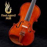 凤灵正品 自然风干3年以上 手工嵌线 实板小提琴FLV1115初学乐器