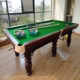 美式台球桌 中式黑八桌球台 力恒3200美式球台