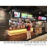 供应全国各餐饮连锁高清餐牌显示屏|高清液晶数字标牌厂家价格