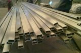 拉丝304不锈钢管 180#砂面不锈钢 五金制品用不锈钢方管