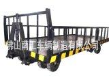 15吨护栏平板拖车