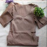 供应女式新款磁无缝美体套装 燃脂瘦身内衣套装