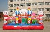 儿童喜爱卡通充气蹦蹦床2016受欢迎厂家报价