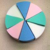 粉扑 圆形8切 亲水性非乳胶 乳胶粉扑 圆6切粉扑组合 多色可选