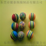 炫彩儿童玩具软体子弹球 出口海绵材质海绵子弹球