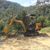 小型挖掘机 农场用的小挖机 果园施肥用的最小型挖掘机
