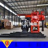 华巨升级版HZ-130YY液压岩心钻机具有移位滑道的液压钻机