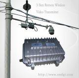 山区、工厂、楼栋3-5公里无线远程固定监控,户外防水无线监控设备