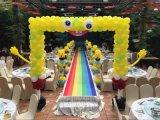 南充气球装饰,南充宝宝宴布置、南充气球拱门、南充气球布置