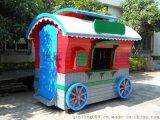 上海商业街售货亭 旅游景点售货车  户外园林售卖车价格