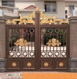金爵仕铝艺大门-铝合金庭院门-铝合金别墅门