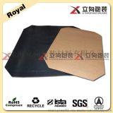 供应防滑塑料滑托板 聚乙烯塑料滑托盘 黑色HDPE推拉器板