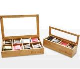 外贸茶叶罐 Tea box,Bamboo tea caddy,Small tea box