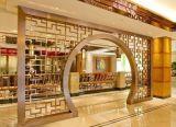 欧式别墅客厅不锈钢钛金玄关隔断屏风定制