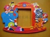 工厂直销PVC软胶滴塑相框 磁性相框订做 工艺促销礼品定制