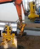 挖机在河道清淤泵_人工湖挖掘用挖机泥浆泵
