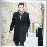 男式羊毛大衣 中长款羊毛呢子大衣男 立领加厚毛尼风衣男休闲外套