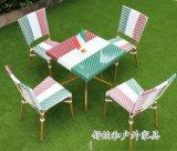 徐州户外休闲桌椅 商业广场特色户外桌椅