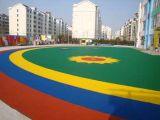 塑胶篮球场的设计施工