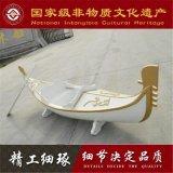 吉林河北北京木船厂家出售高档小型装饰贡多拉船 国内唯一3米制作商