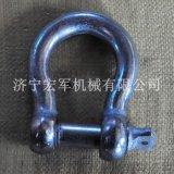 M10电镀锌欧式弓形卸扣、不锈钢欧式弓形卸扣
