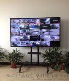 安防工程82寸液晶监视器|工业级监视器|LED监视器