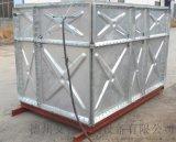 艾科组合式镀锌钢板水箱厂家定做,质优价廉