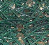 厂家销售pvc包塑钢丝绳护坡网边坡防护网