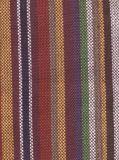 厂家供应纯棉民族风条纹色织布