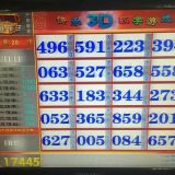 高端产品猜字谜的快乐3D数字游戏彩票机