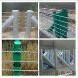 镀锌缆索护栏*五索缆索护栏*钢索护栏厂家*景区专用护栏-钢丝绳护栏