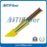 室內光纜廠家直銷 12芯束狀G657A1纖芯光纜 單模多芯室內配線光纜