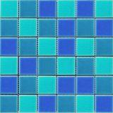 淘陶, 陶瓷马赛克, 冰裂釉面, 混色, 游泳池马赛克-LH48179