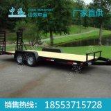 工业用履带车用特种牵引平板拖车