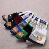 佛山儿童袜厂家批发 纯棉柔软中筒童装袜 五本指品牌童袜