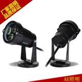 AE照明 LED草坪灯 户外庭院景观投射灯具 3W正白