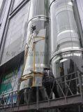 更换弧形玻璃 观光电梯玻璃 高层外墙玻璃玻璃