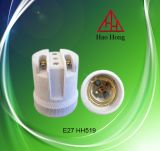 【厂家直销 质优价廉 品质保证】供应陶瓷灯头E27 F519