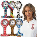 厂家直销多款式硅胶电子护士表