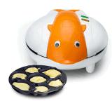 生活日记 HL-A迷你卡通多功能家用蛋糕机电饼铛薄饼机烙饼机