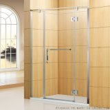 鼎派卫浴 DIYPASS BP-0206 304不锈钢工程淋浴屏风