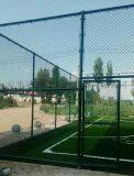 篮球场围网 组装式勾花网围栏 菱形格球场围网