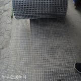 华卓供应316L不锈钢轧花网 养猪平纹钢丝轧花网